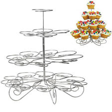 4 Layer 23 Cupcake Muffin Bracket For Party Display Tree Cake Stand Tray Holder
