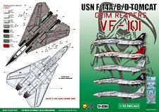 DXM decal 1/32 USN F-14A/B/D VF-101 Grim Reapers