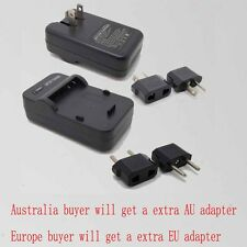 Wall Travl Home Battery Charger For KYOCERA BP-1500S YASHICA Contax Tvs Digital