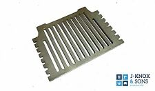 "16"" Grant Hydro Fire Grate Flat Heavy Duty Cast Iron Fireplace"