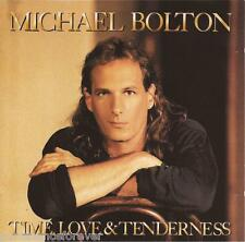 MICHAEL BOLTON - Time, Love And Tenderness (UK 10 Tk CD Album)