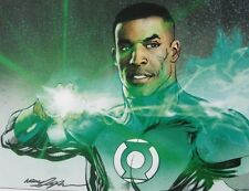 NEAL ADAMS rare GREEN LANTERN print SIGNED color COMMISSION John Stewart LAST 1