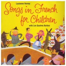 SONGS IN FRENCH FOR CHILDREN (Lucienne Vernay) (CD) Sealed