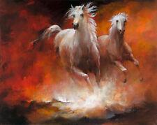 Willem Haenraets: Wild Horses II Keilrahmen-Bild 60x80 Leinwand Pferde