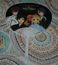 Japanese Anime Tales of Shop Tales of Friends Bandai Namco Fan NYCC 2015 2 Sided