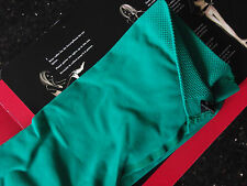 New FALKE Pure Matt Semi Opaque Tights, Small, 50 Den,Jade Green