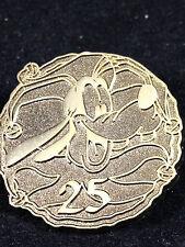 DLR 2006 Disneyland Resort Hotel Lanyard Collection Gold Coin Goofy 25 Pin