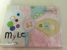 New Baby Girls Cot Quilt And Pillow Case Forget Me Not For Kids By Mylc