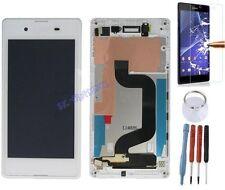 ECRAN LCD VITRE TACTILE SUR CHASSIS BLOC COMPLET POUR SONY XPERIA E3 BLANC D2203
