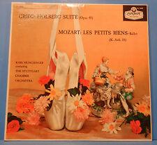 MUNCHINGER GRIEG HOLBERG SUITE MOZART LES PETITS RIENS LP GREAT COND! VG++/VG++!