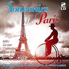 SOUVENIRS DE PARIS-50 GROßE ERFOLGE 2 CD NEU
