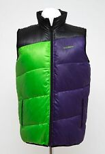 MENS KISSMARK GILET DOWN PADDED VEST BODYWARMER RED PURPLE SIZE L LARGE EXC