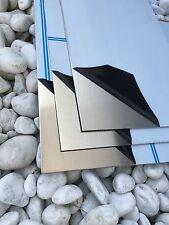 Aluminium 2mm Blech 300x500x 2mm AlMG3 Alu Alublech Zuschnitt mit Folie