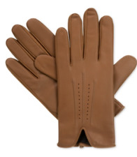 $251 ISOTONER MEN BROWN LEATHER DRESS SMART TOUCH THERMAL WINTER GLOVES SIZE XL