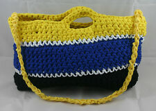 lotte-vogel Borsa (borsa 47x27cm) (giallo-blu-nero) - Made in Germania