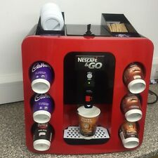 NESCAFE & GO DISPENSER HOT DRINKS VENDING MACHINE & LARGE STARTER PACK