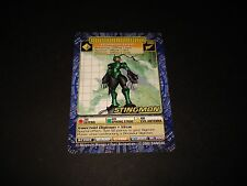 BANDAI DIGIMON CARD BO-119 STINGMON - FREE COMBINED SHIP -GREAT CONDITION