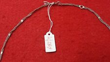 CHAINE COLLIER ARGENT MASSIF STERLING SILVER PENDENTIF ELEPHANT REF2869