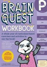Brain Quest Workbook : Pre-K - A Whole Year of Curriculum-Based Exercises and...