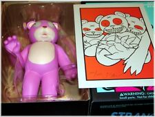 JERMAINE ROGERS Veil 129 GID Eyes TOY + Exclusive Signed & Numbered 3 DERO Print