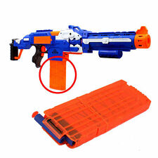 Top 1pc Quick Reload Clip System Darts for Toy Gun Nerf N-Strike Blaster Best TO