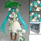 Hatsune Miku Snow Miku Snow Bell Ver. 13cm/5.2 PVC Action Figure New In Box #024