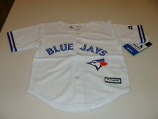 Toronto Blue Jays Infant Kids Toddler Age 4T Jersey Cool Base White Home MLB