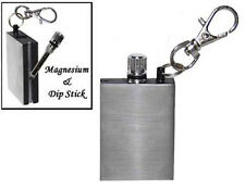 FS376 Emergency Fire Starter Magnesium Flint Match Striker Lighter Camp Survival