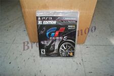 Gran Turismo 5 XL Edition w/ Bonus Cars PS3 NEW