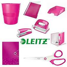 Büroset 8-Teilig pink, Ordner, Locher, Hefter, Eckspanner, Schere, Schnellhefte