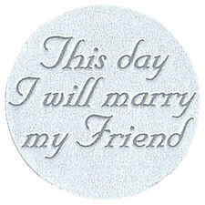 This Day Marry Friend Wedding Invitation Seals 25/pk