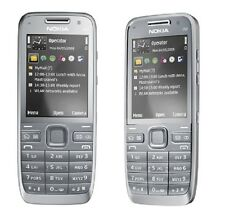 New Unlocked Nokia E52 3G GSM WIFI Cell Phone Silver