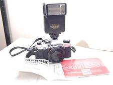 OLYMPUS omG SLR 35mm SLR CAMERA Body+pdf Manual OM-G+Sunpak 433D Flash