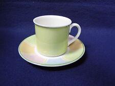 Espressotasse mit Untertasse zu Twist Colour Stripes von Villeroy&Boch Porzellan