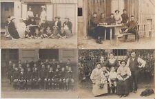 PEOPLE PERSONNES REAL PHOTO INCL. MILITARY MILITAIRE 500 CPA (mostly pre-1940)