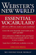Webster's New World Essential Vocabulary by David Alan Herzog (Paperback, 2004)