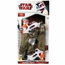 ADULT STAR WARS CLONE JANGO FETT BLASTERS & HOLSTERS COSTUME ACCESSORY RU5089