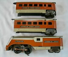 American Flyer Prewar O Gauge New York Central Streamliner Set 960-T