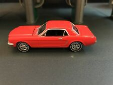 1965 FORD MUSTANG COUPE  RARE 1/64 LIMITED EDITION DIECAST COLLECTIBLE MODEL CAR