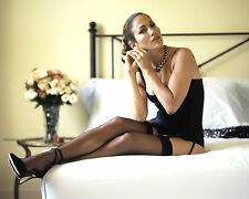 Jennifer Lopez 8x10 Photo Picture Pic Hot Sexy High Heels and Lingerie on Bed 18