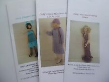 Knitting Patterns for 1:12scale 1920s lady