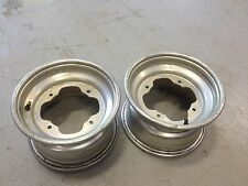 2003 YAMAHA WARRIOR 350 FRONT WHEELS WHEEL RIM RIMS SET 2