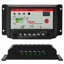 20A Solar Charge Controller 12V/24V PWM Battery Regulator Light&Time Control HH!