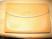 Authentic HERMES Leather Clutch Bag preloved condition