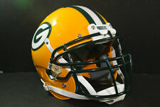 Custom Schutt XP Pro GREEN BAY PACKERS Game Style Football Helmet A J HAWK
