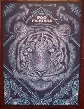 FOO FIGHTERS The Forum Los Angeles Todd Slater 2015 Rock Concert mini Poster