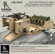 Live Resin 1/35 M-ATV SOCOM Version Upgrade Set Pt.3