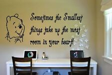 Winnie the Pooh and Saying Wall Decal Sticker Wall Art Words and Phrases