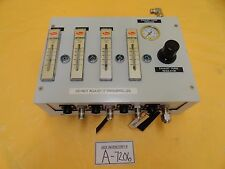 Edwards 4 Channel Exhaust and Pressure Regulator Control Box Used Working