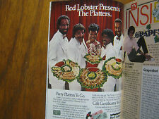 1984 TV Guide(THE PLATTERS/PATRICIA KLOUS/GRETA SCACCHI/BILLY MOSES/HART BOCHNER